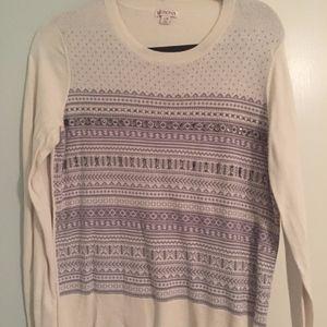 Merona Beaded Striped Sweater